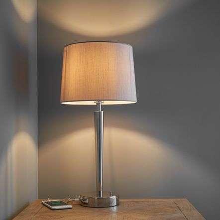 Syon Table Light with USB Port