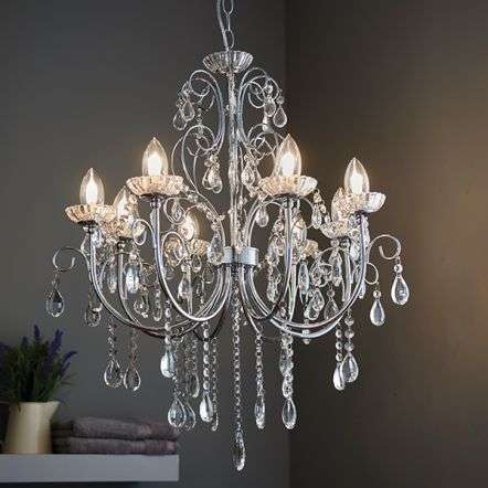 Tabitha 8 Light Pendant IP44 18W