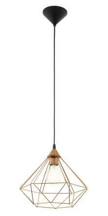 Tarbes 1 Light Ceiling Pendant Copper