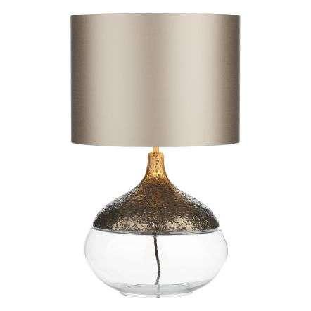 Teardrop Table Lamp in Bronze Finish