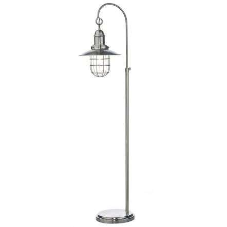 Terrace Floor Lamp Antique Chrome