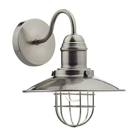 Terrace Single Wall Bracket Antique Chrome