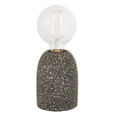 Terrazzo Small Black Table Lamp