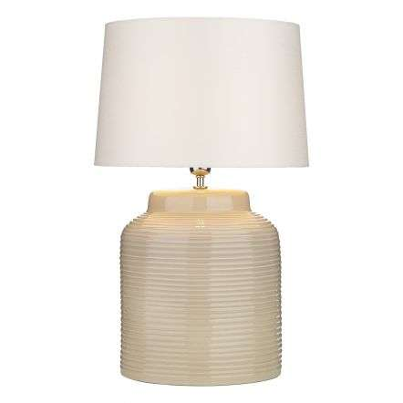 Tidal Table Lamp Taupe