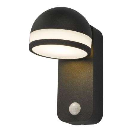 Tien Adjustable Wall Light Anthracite Sensor IP65 LED