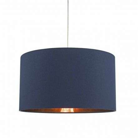 Timon Easy Fit Blue & Copper Pendant