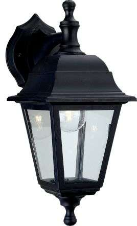Traditional Black Coach Lantern Outdoor