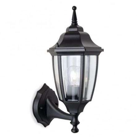 Traditional Black Coach Outdoor Garden Lantern