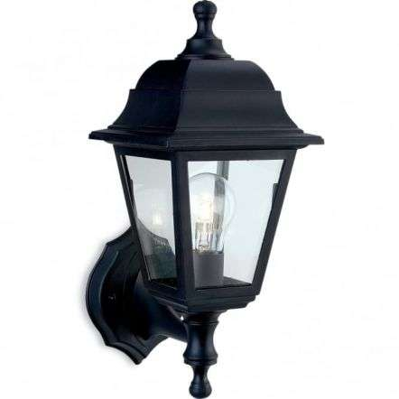 Traditional Black Coach Outdoor Up / Down Lantern