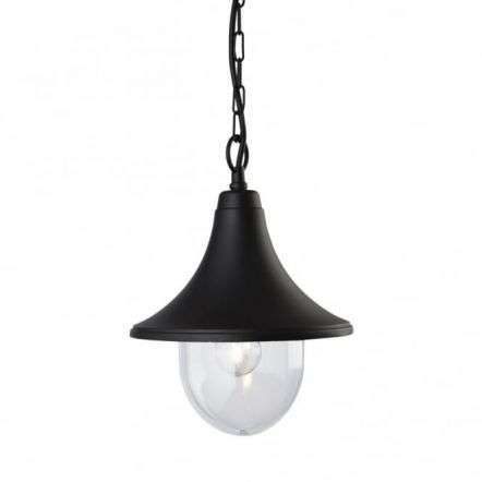 Traditional Black Porch Hanging Light