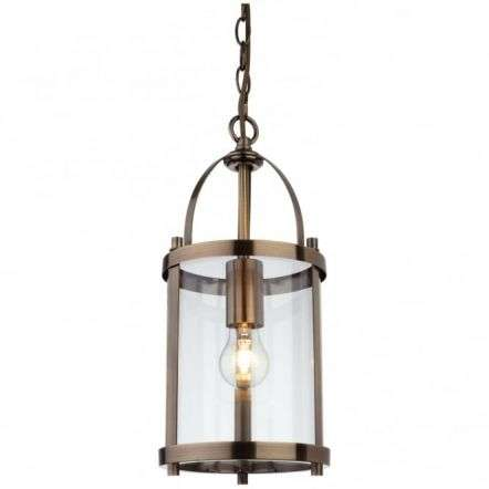 Traditional Bronze Lantern Light Fitting