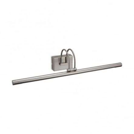 Traditional Brushed Steel Picture Wall Light