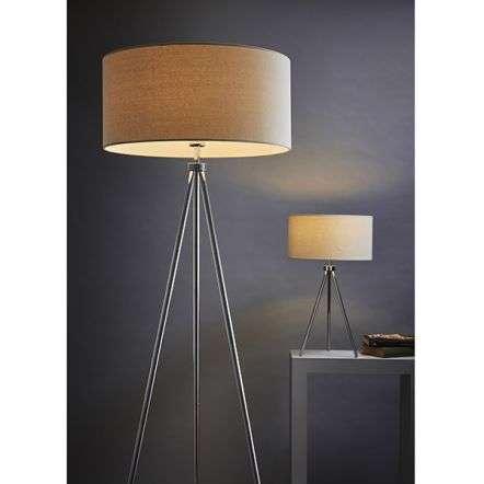 Tri Floor Lamp in Chrome