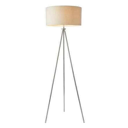 Tri Floor Lamp in Chrome