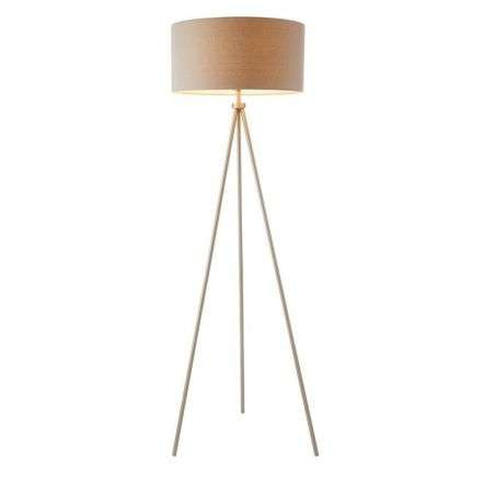 Tri Floor Lamp in Matt Nickle