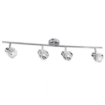 Triton 16W LED 4 Light Split Spotlight Bar Chrome