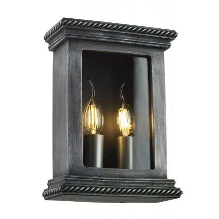 Truro Wall Light Pewter