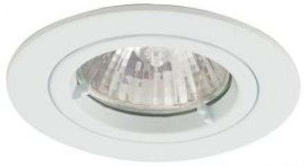 Twistlock GU10 Die Cast Aluminum Recessed Downlight White