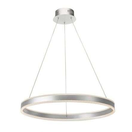 Tybalt Pendant Silver & Acrylic LED