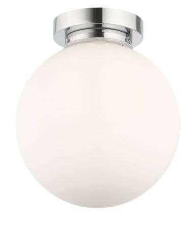 Vanity 1 Light Flush Polished Chrome