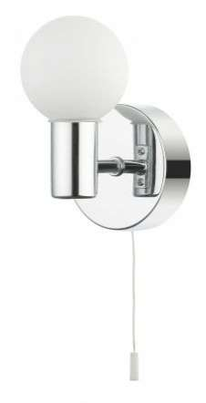 Vanity 1 Light Wall Light Polished Chrome