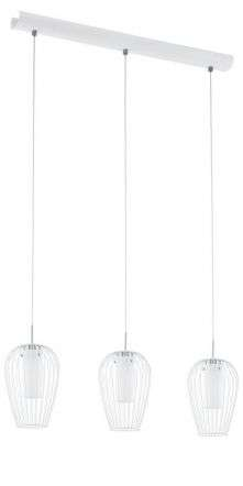 Vencino 3lt Ceiling Bar Light in Chrome