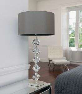 Verdone Crystal Table Lamp With Shade