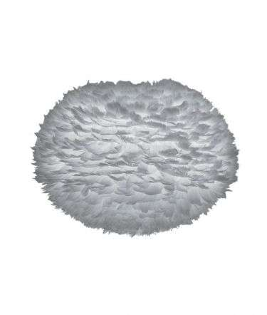 VITA Eos Large Goose Feather Pendant Light Grey | Online Lighting Shop