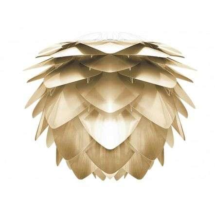 Vita Silvia Medium Brushed Brass Pendant Shade