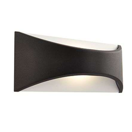 Vulcan 300mm 1lt wall IP65 12W warm white