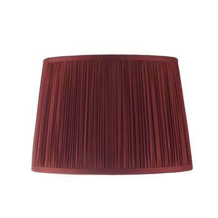 Wentworth Dark Cranberry Pleated Shade 305mm