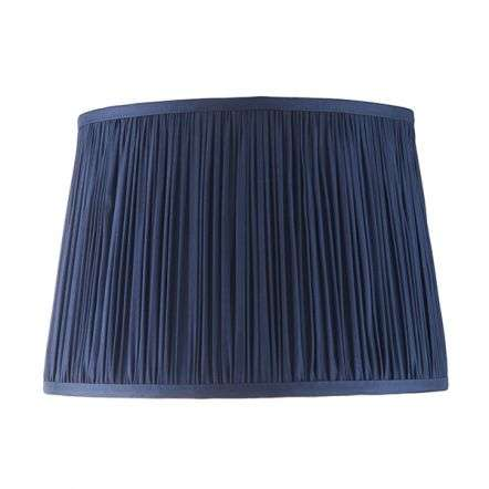 Wentworth Midnight Blue Pleated Shade 305mm
