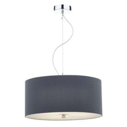 Zaragoza 3 Light Pendant 60CM Grey