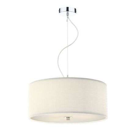 Zaragoza 3 Light Pendant Cream 600MM