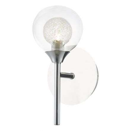 Zeke Wall Light Polished Chrome