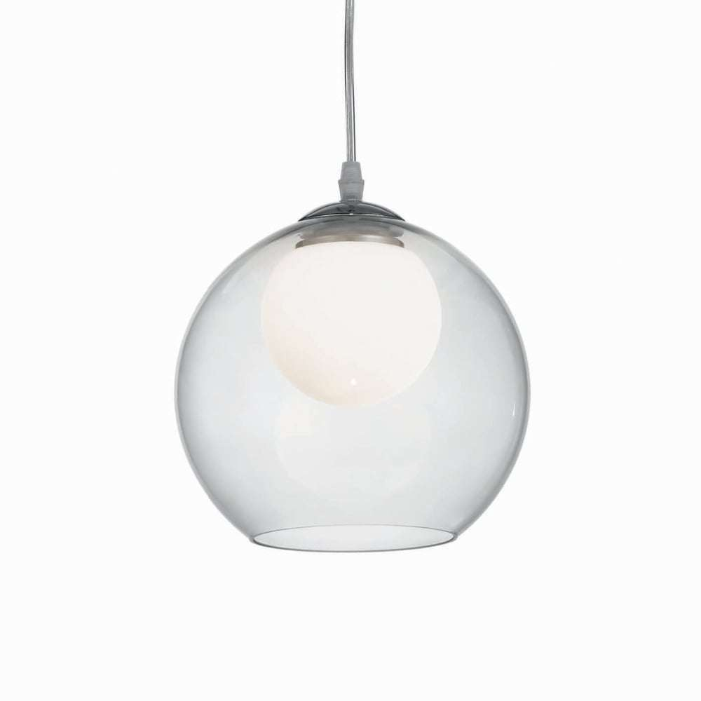 Ideal lux 052793 nemo clear 200mm glass globe pendant jr lighting nemo clear 200mm glass globe pendant mozeypictures Choice Image