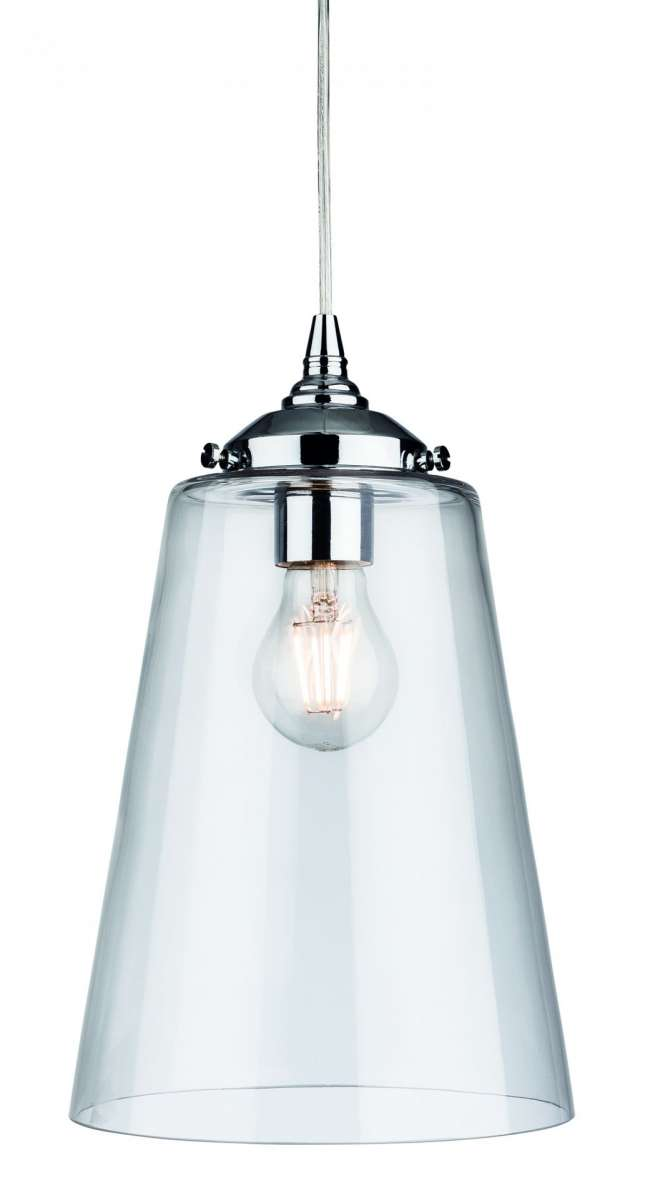 Seville Clear Glass Pendant Light