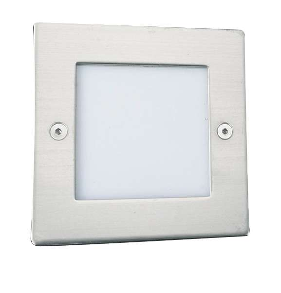 Searchlight 9907WH Square LED Recessed Wall Light jrlighting.co.uk