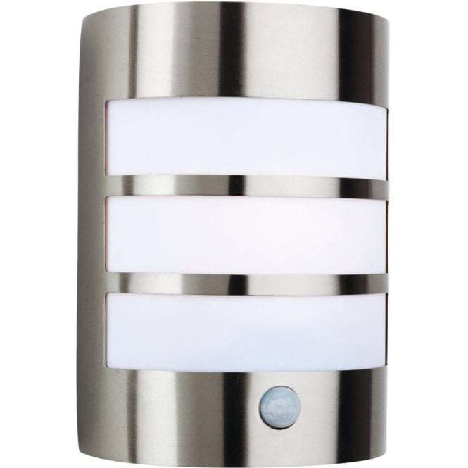 Ni outdoor lights jr lighting outdoor lighting northern ireland stainless steel single light outdoor wall lamp with pir sensor audiocablefo Light database