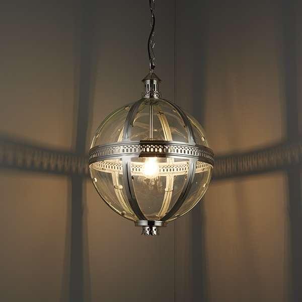 Vienna 1 Light Brass Pendant