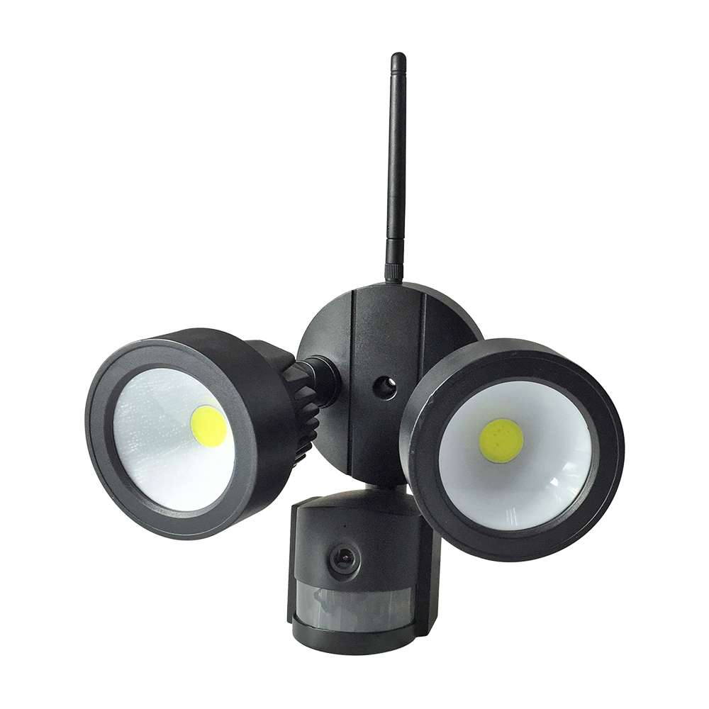Wifi Outdoor 20W LED Floodlight with PIR & Security Camera IP65